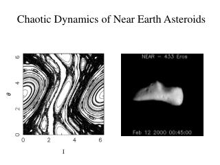 Chaotic Dynamics of Near Earth Asteroids