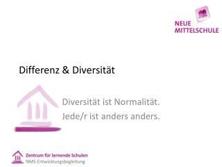 Differenz & Diversität