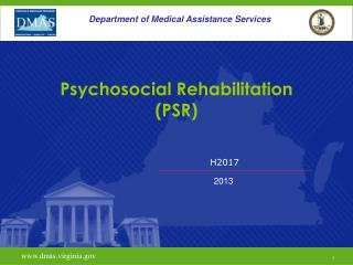 Psychosocial Rehabilitation (PSR)