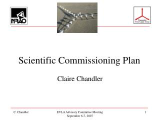 Scientific Commissioning Plan