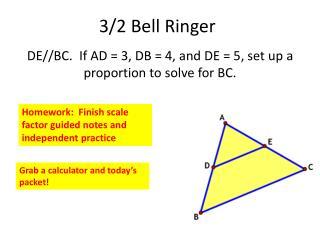 3/2 Bell Ringer