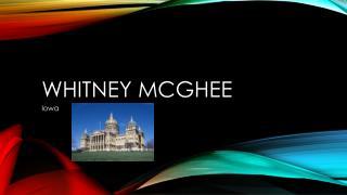 Whitney  mcghee