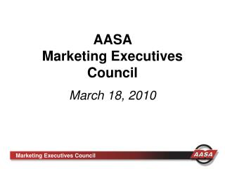 AASA  Marketing Executives Council