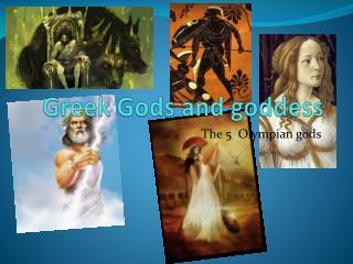 Greek Gods and goddess