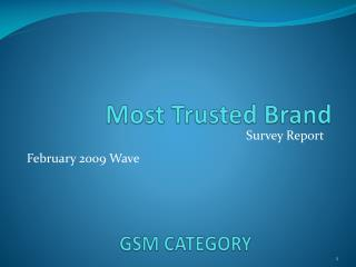 GSM CATEGORY