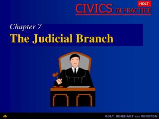 Chapter 7 The Judicial Branch