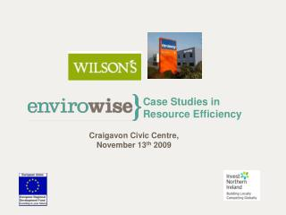 Case Studies in Resource Efficiency