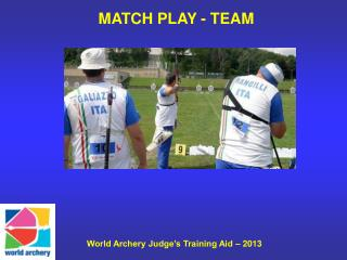 MATCH PLAY - TEAM