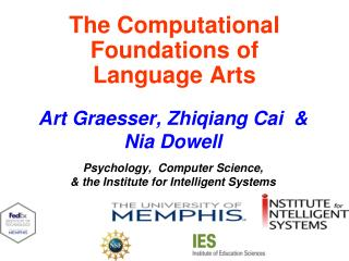 The Computational Foundations of                Language Arts