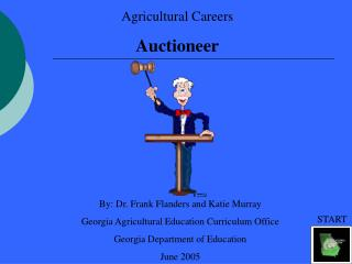 Agricultural Careers Auctioneer