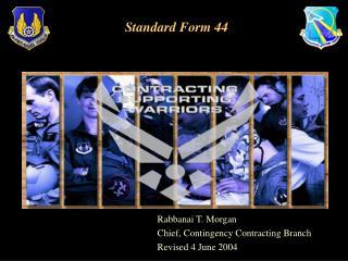 Standard Form 44
