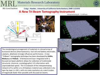 A New Tri Beam Tomography Instrument