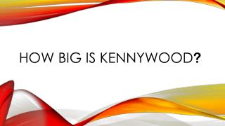 How big is  Kennywood ?