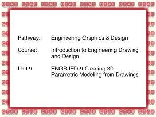 Creating 3D Parametric Modeling from Drawings