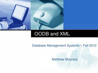 OODB and XML