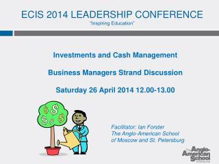 "ECIS 2014 LEADERSHIP CONFERENCE ""Inspiring Education"""