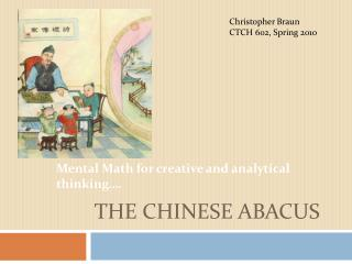 The Chinese Abacus