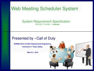 Web Meeting Scheduler System