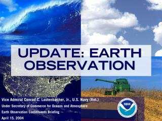 UPDATE: EARTH OBSERVATION