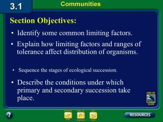 3.1 Section Objectives � page 65