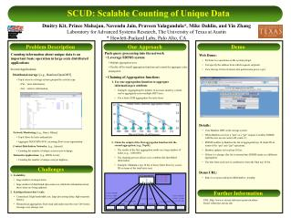SCUD: Scalable Counting of Unique Data