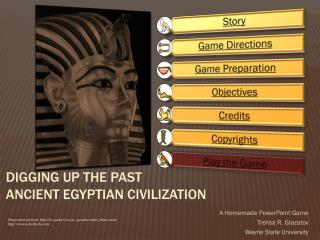 Digging Up the Past Ancient Egyptian Civilization