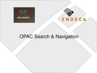 OPAC Search  Navigation