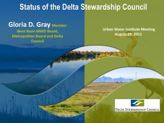 Status of the Delta Stewardship Council