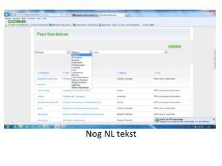Nog NL tekst
