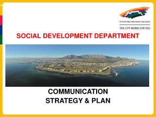 SOCIAL DEVELOPMENT DEPARTMENT