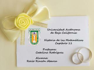 Universidad Autónoma de Baja  C alifornia
