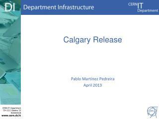 Calgary Release