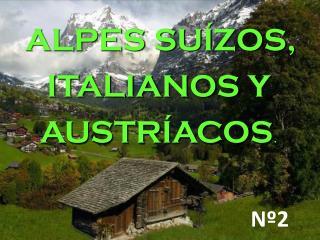 ALPES SU�ZOS,  ITALIANOS Y AUSTR�ACOS .