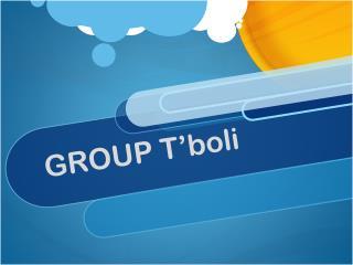 GROUP  T'boli