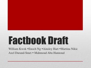 Factbook  Draft