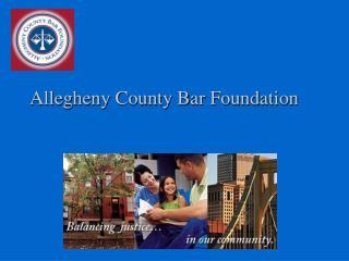 Allegheny County Bar Foundation
