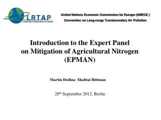 United Nations Economic Commission for Europe (UNECE )