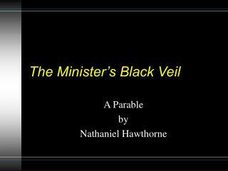 The Minister s Black Veil