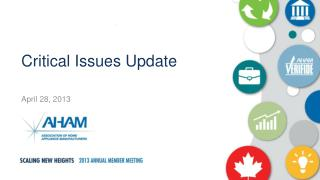 Critical Issues Update
