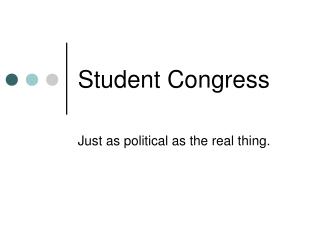 Student Congress