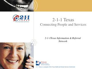 2-1-1 Texas Connecting People and Services