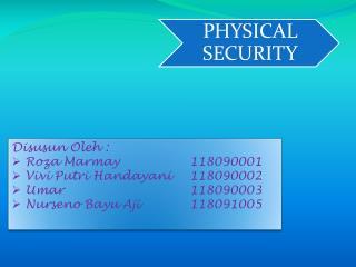 Disusun Oleh :  Roza Marmay 118090001 Vivi Putri Handayani118090002 Umar118090003