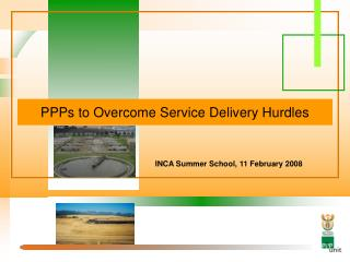 PPPs to Overcome Service Delivery Hurdles