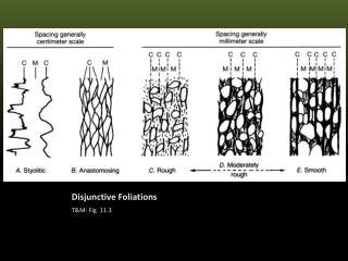Disjunctive Foliations