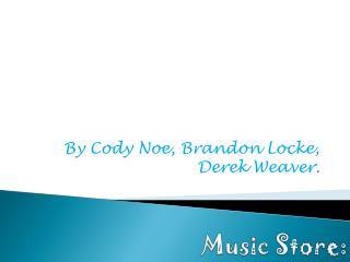 Music Store: