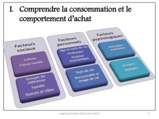 Comprendre la consommation et le comportement d�achat