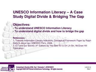 Information Literacy (IL)