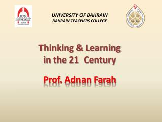 Thinking & Learning  in  the  21  Century
