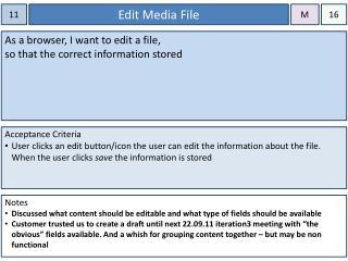 Edit Media File