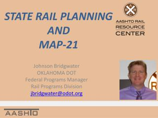 STATE RAIL PLANNING AND MAP-21